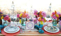 Love this blog...mason jar flowers