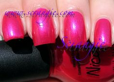 Nicole By OPI It's A-May-Zing (Bright Shimmery Fuchsia Pink)
