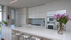 similar look to our kitchen, our ovens are white