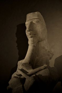 Colossus of Akhenaten Musee du Louvre