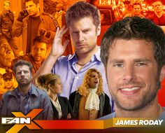 Actor James Roday will join his Psych co-star Dulé Hill at #FANX17! Appearing Sat, March 18 only! #PSYCHatFANX17 #utah