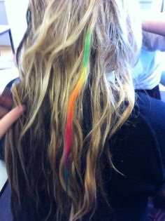 Color your hair rainbow (: