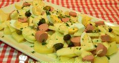 Receta de ensalada de patatas