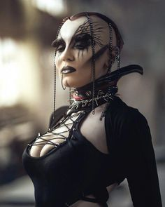Top Gothic Fashion Tips To Keep You In Style. As trends change, and you age, be willing to alter your style so that you can always look your best. Consistently using good gothic fashion sense can help Gothic Mode, Dark Gothic, Goth Beauty, Dark Beauty, Steam Punk, Gothic Fashion, Fashion Beauty, Vampires, Dark Wave