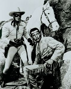 The Lone Ranger and Tonto.