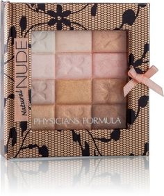Multi-functional all in one versatile palette from Physicians Formula; 12 coordinated nude shades, creamy pearlescent formula.. (ulta)