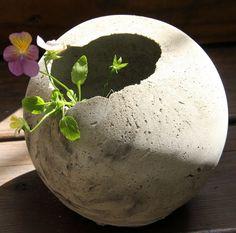 art studio: New concrete today!