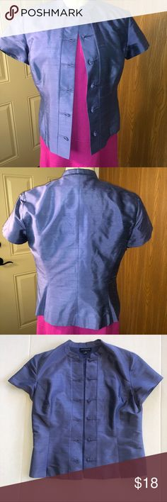 d510c055b19 Ann Taylor Kimono inspired Silk Jacket EUC. Amp up your work or dress  wardrobe with