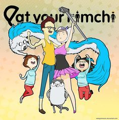 YT: Eat Your Kimchi Adventure Time by mongrelmarie on DeviantArt
