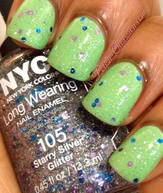 @NYC New Starry Silver Glitter