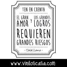 ↘ Excelente frase para compartir --> www.viniloscasa.com ↙