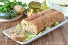 Polpettone di tonno e zucchine