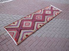 Check out this item in my Etsy shop https://www.etsy.com/listing/512764314/turkish-kilim-runner-area-rug-handwoven