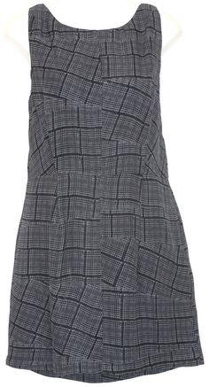 RAG & BONE Tribeca Dress sz 8 Black/Gray Plaid Silk Mini Career Spring #RagBone #Sheath #WeartoWork