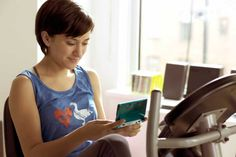 Zelda Williams playing 3DS in the Nintendo Spot. #Robin #Williams #Zelda #spot