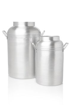 Spin Metal Canister Small Vase - Vessels & Vases - French Connection
