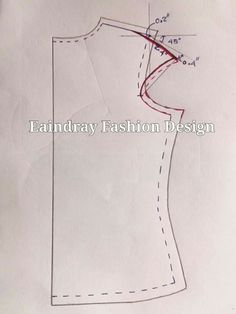 Elegant Photo of Custom Sewing Patterns Dress Sewing Patterns, Blouse Patterns, Sewing Patterns Free, Sewing Tutorials, Clothing Patterns, Sewing Hacks, Costura Fashion, Bodice Pattern, Sewing Blouses