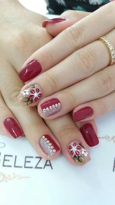 New nails verano pies ideas Fabulous Nails, Gorgeous Nails, Fancy Nails, Trendy Nails, Latest Nail Art, Beautiful Nail Designs, Christmas Nail Art, Flower Nails, Nail Arts