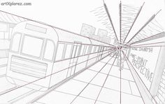 Image result for one point perspective