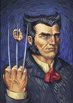 Van Gogh's Wolverine. By Laura Martin.
