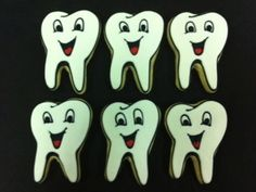 Designer Cookies ~ Happy Tooth Day party favors