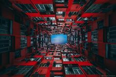 Photographs Reveal Hidden Symmetry in Hong Kong's High Rise Buildings