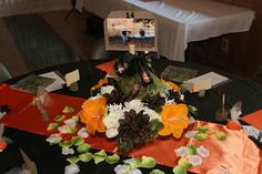 probably the cutest camo wedding decorations I've seen
