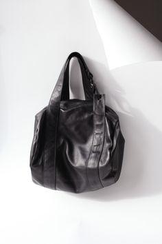 Mini Duffle Leather Bag