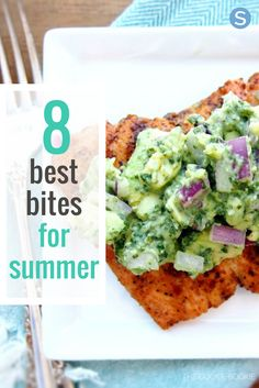 These light snacks are perfect for the summer months because not only are they delicious, they're also good for you.