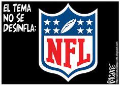 CARICATURISTA PACOTE: NFL DESINFLADA