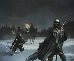 Evenir... the barbarians around the foothills of Loryan Mountain?