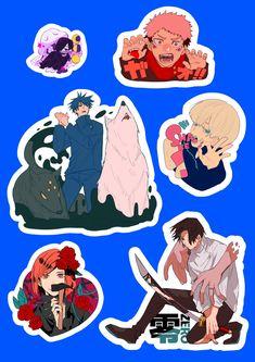 Anime Demon, Anime Manga, Anime Art, Anime Stickers, Cute Stickers, Nier Characters, Journal Stickers, Slayer Anime, Cute Icons