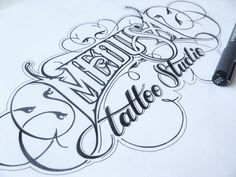 Hand Lettering II by Martin Schmetzer | InspireFirst