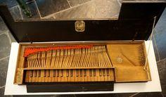 oldest original Swiss builded Clavichord / Johannes Thürig Wyl 1680
