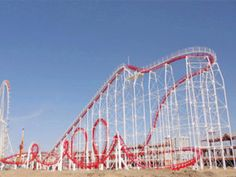 Buy Large Roller Coaster for Amusement Parks from Beston Amusement. 6 Ring Roller Coaster Sale In Our Factory. Roller Coaster For Sale, Biggest Roller Coaster, Best Roller Coasters, Roller Coaster Ride, Amusement Park Rides, Abandoned Amusement Parks, Ride On Train, Ring Roller