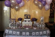 dessert table ideas for 50 th birthday - Google Search