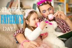 Cute daughter and her father having princess time, tea party. Brian Tracy, Happy Fathers Day, Monday Motivation, Awkward, Royalty Free Images, Tea Party, Meant To Be, Dads, Parenting