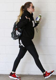 Khloe leaving the gym - April 15, 2014