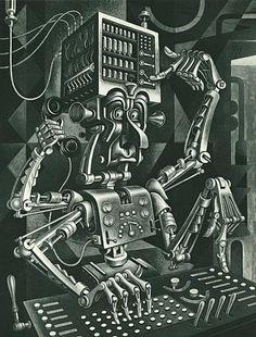Modern Illustration Artzybasheff