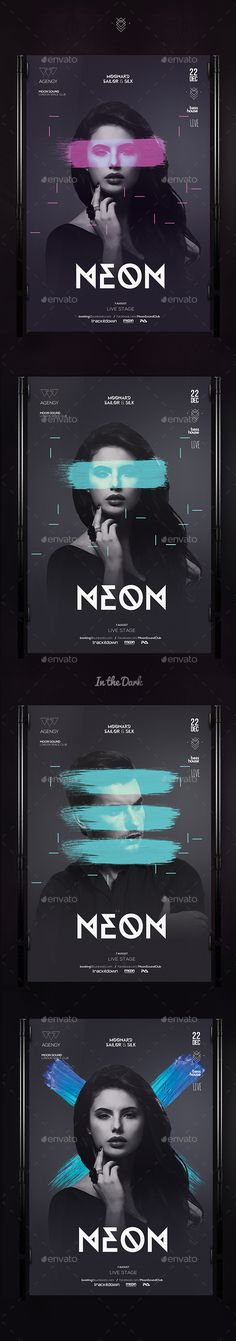 Club Flyer — Photoshop PSD #model #dubstep • Available here → https://graphicriver.net/item/club-flyer/13445186?ref=pxcr