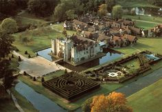 Hever Castle is located in the village of Hever, Kent near Edenbridge, 30 miles south-east of London, England. It began as a country house, built in the 13th century.