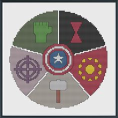 avengers by PixyStitches chart $3.50 on Craftsy