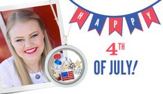 Origami Owl Locket will make your 4th sparkle! Click on the pic to put together YOUR 4th of July celebration.