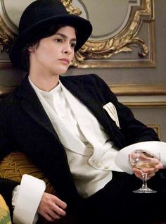 """Audrey Tautou as Gabrielle """"Coco"""" Chanel in Coco Avant Chanel (2009) by Anne Fontaine."""