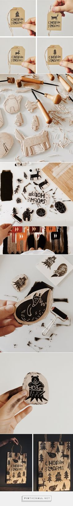 wood prints on Behance... - a grouped images picture - Pin Them All