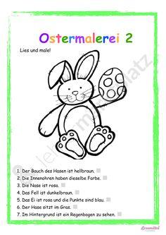 Ostermalerei - Lies und Male! Malen nach Anleitung - Seite 1