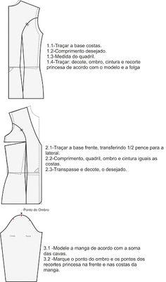 MIB - Modelagem Industrial Brasileira: Paletó Chicken Sleeve