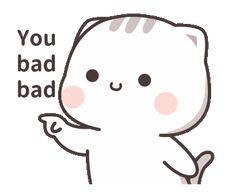 gifts animasi Cutie Cat-Chan four Cute Anime Cat, Cute Bunny Cartoon, Cute Kawaii Animals, Cute Couple Cartoon, Cute Cartoon Pictures, Cute Love Pictures, Cute Love Cartoons, Cute Cat Gif, Cute Bear Drawings