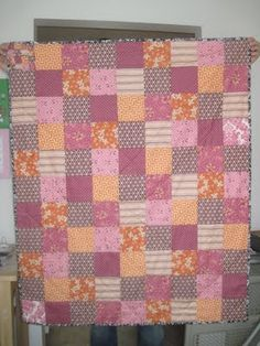 Hope Valley Patchwork Quilt (Fiesta colorway - Denyse Schmidt)