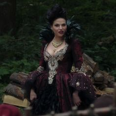 the evil queen once upon a time outfits - Google Search
